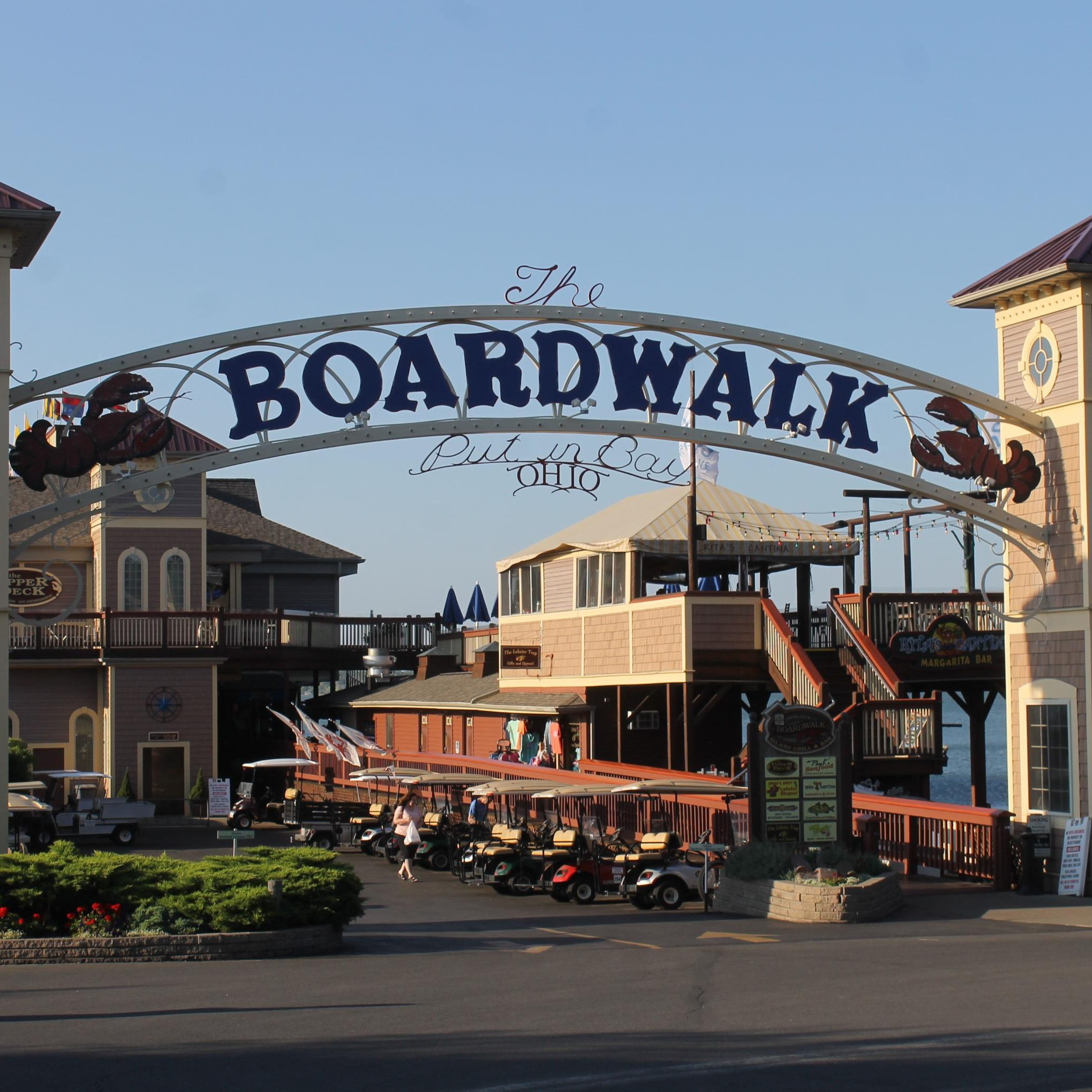 The Boardwalk Put in Bay