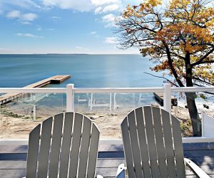 View from Put-in-Bay waterfront Condo balcony