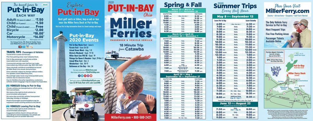 Miller-Schedule-Banner