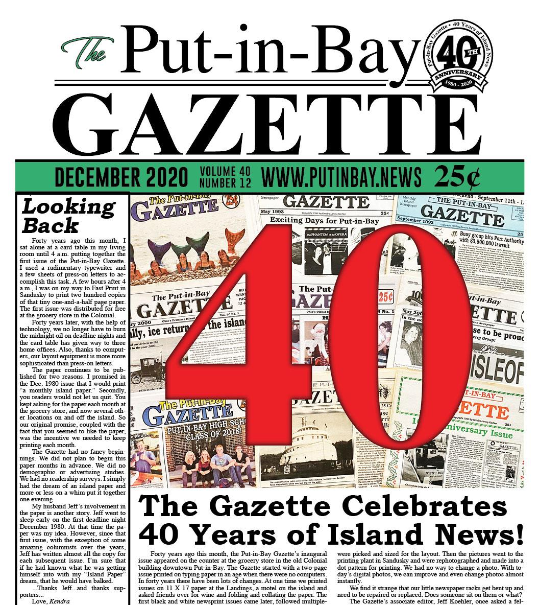 2020 December Gazette