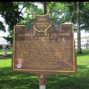 Jose De Rivera Historical Plaque