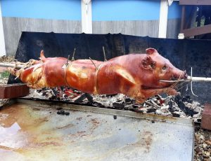 Annual Pig Roast at The Goat