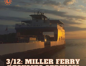 3/12/21: THE FERRY IS RUNNING!