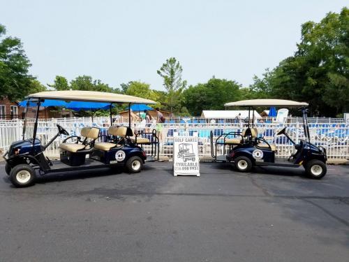 Island Club Golf Carts