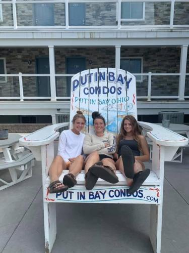 Kids in Condos Share The Chair