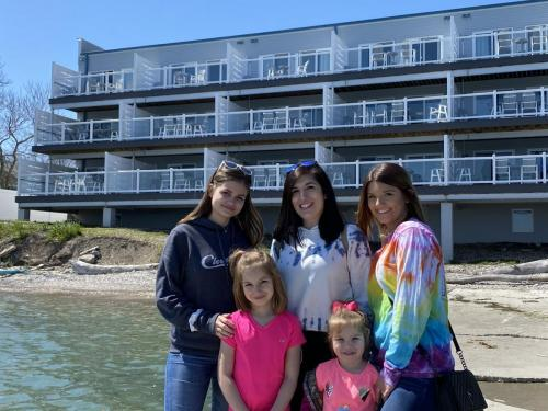 Family Time at Put-in-Bay Condos
