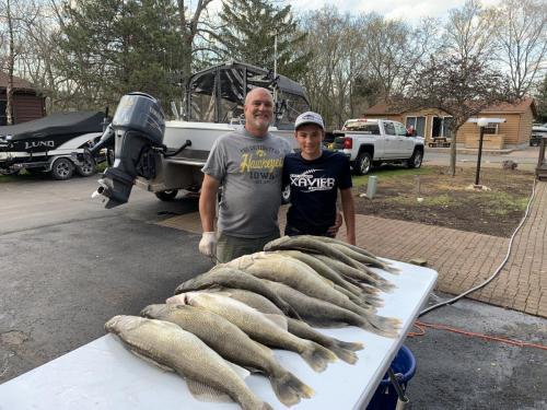 Big Walleye in April!